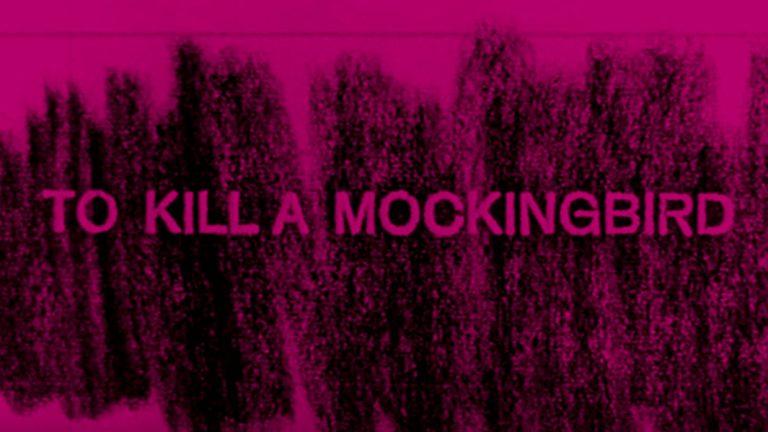 To Kill A Mockingbird Title Cover