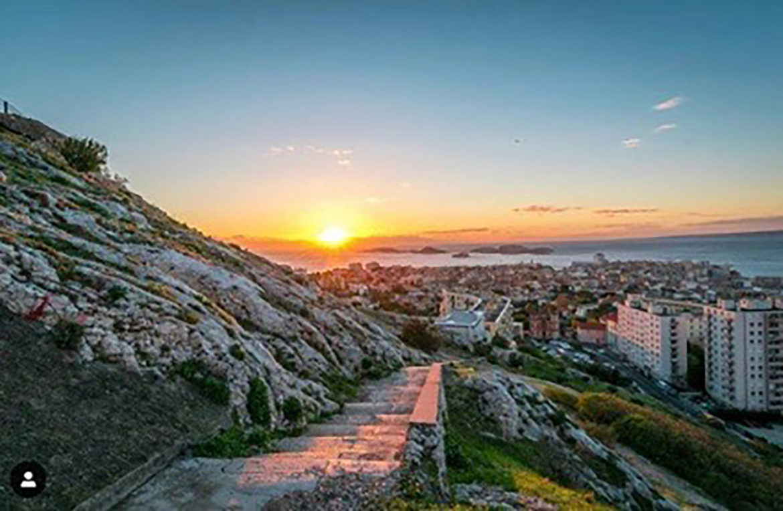 Marseille at Sunset - Kali Borello