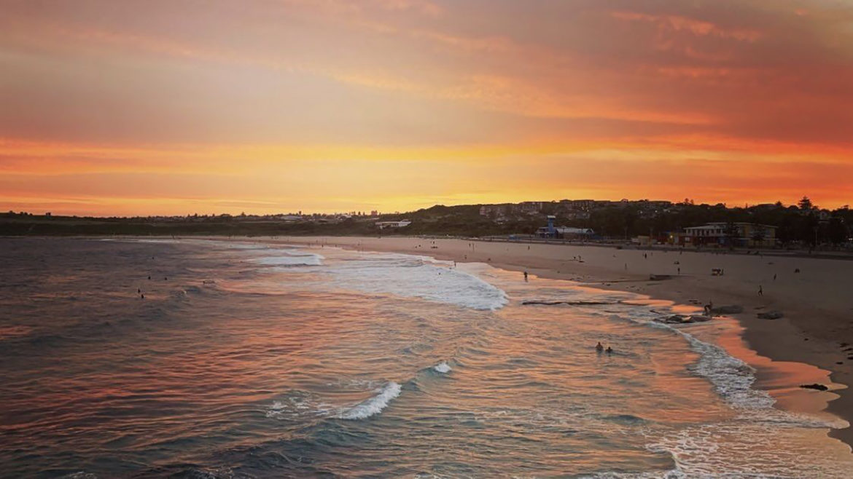 Sunset in Maroubra, NSW Australia - Leah Rudd