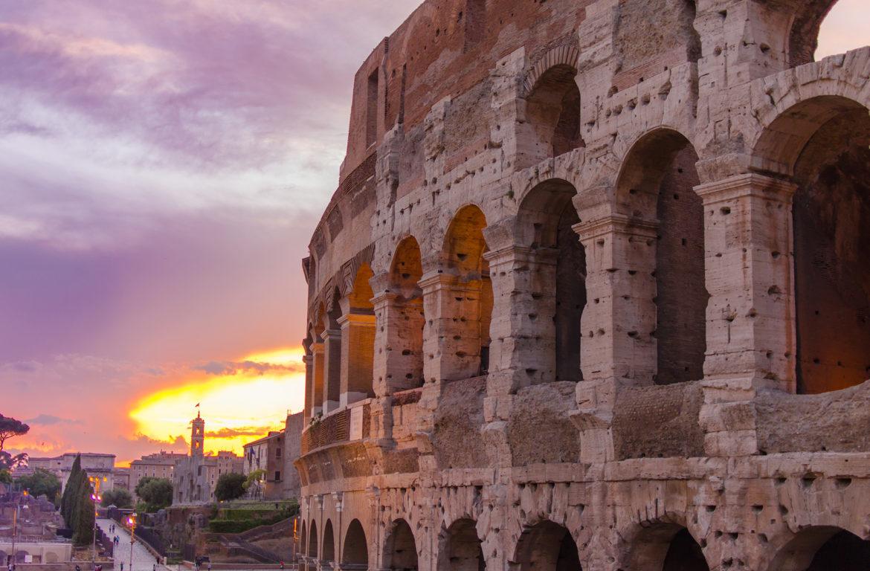 Sunset in Rome - Bianca Huehnerfuss
