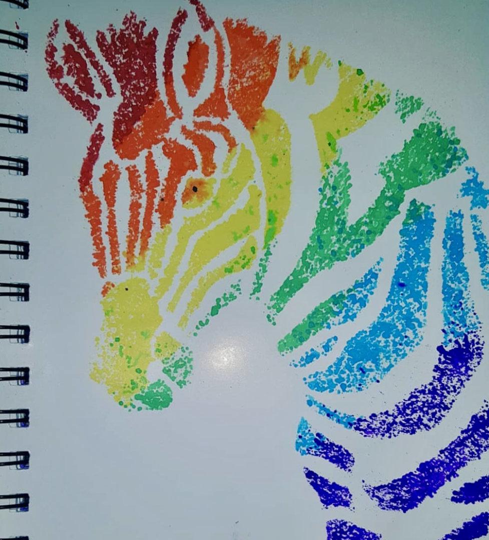 Rainbow Ehlers-Danlos Syndrome Zebra