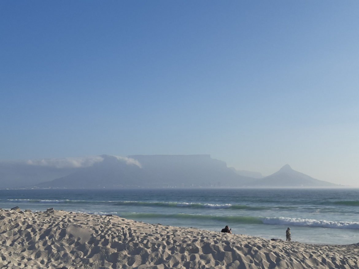 Table Mountain across the Bay, South Africa