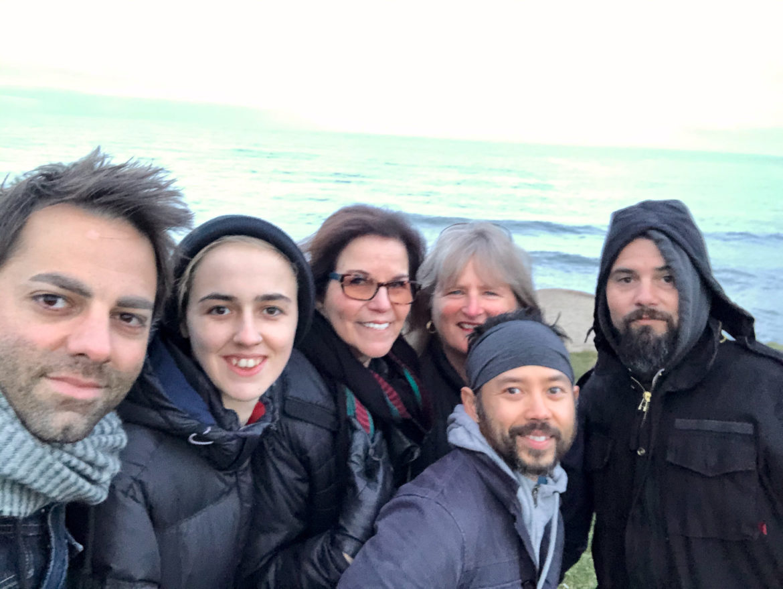 A happy crew