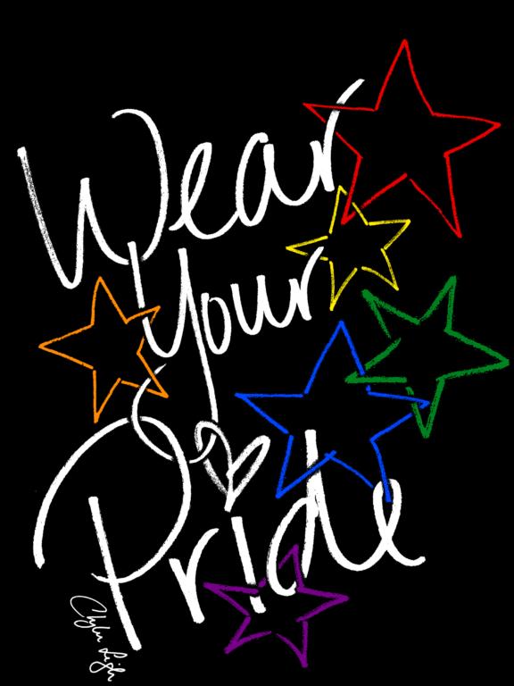 Wear Your Pride Design