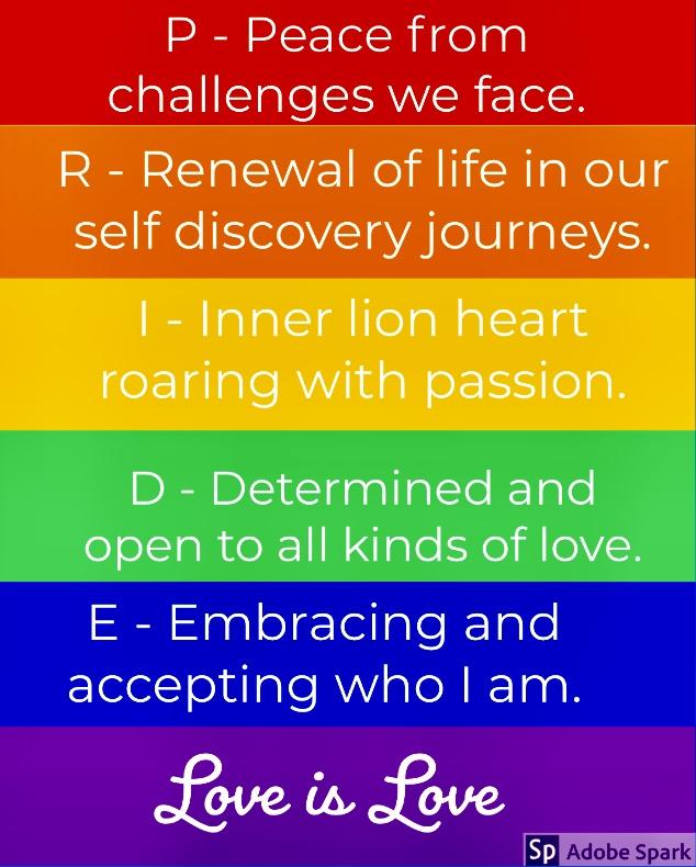 Pride Word Poem Clarissa Castillo