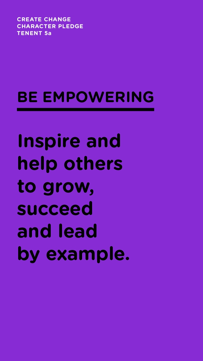 Be Empowering