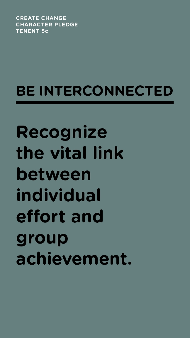 Be Interconnected