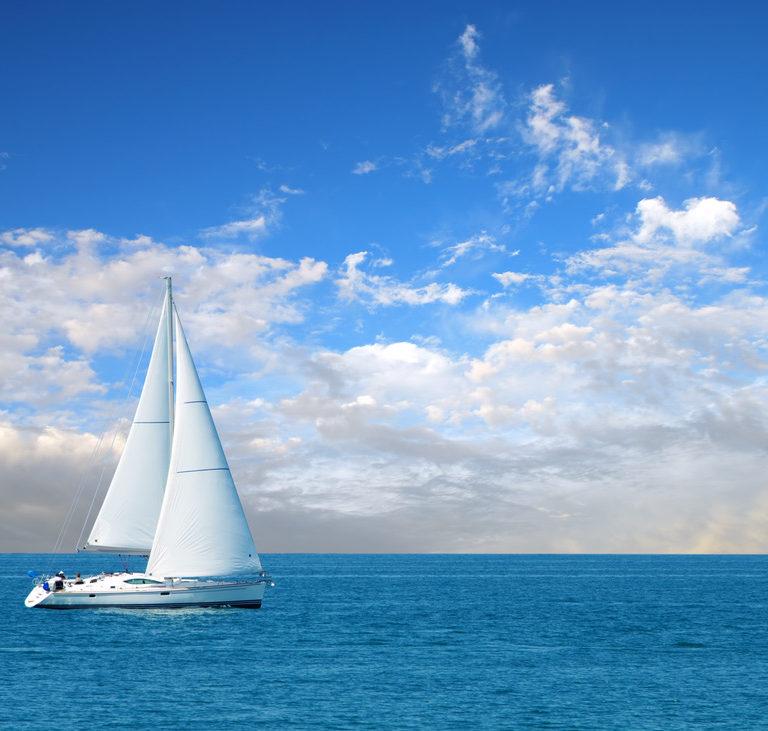 Sailboat on the Ocian