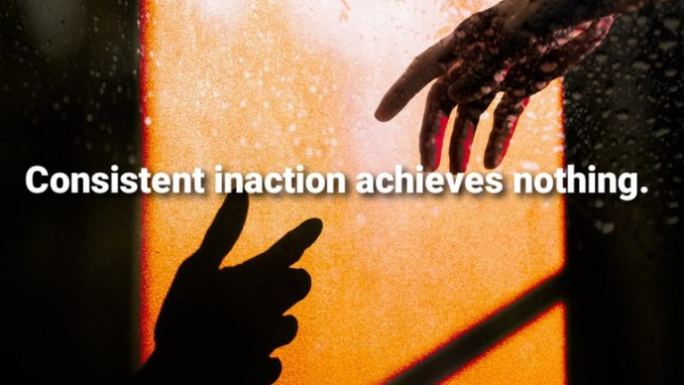 Action or Inaction? Artwork